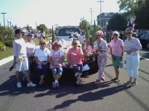 Avalon Garden Club at the 2014 Memorial Day Parade