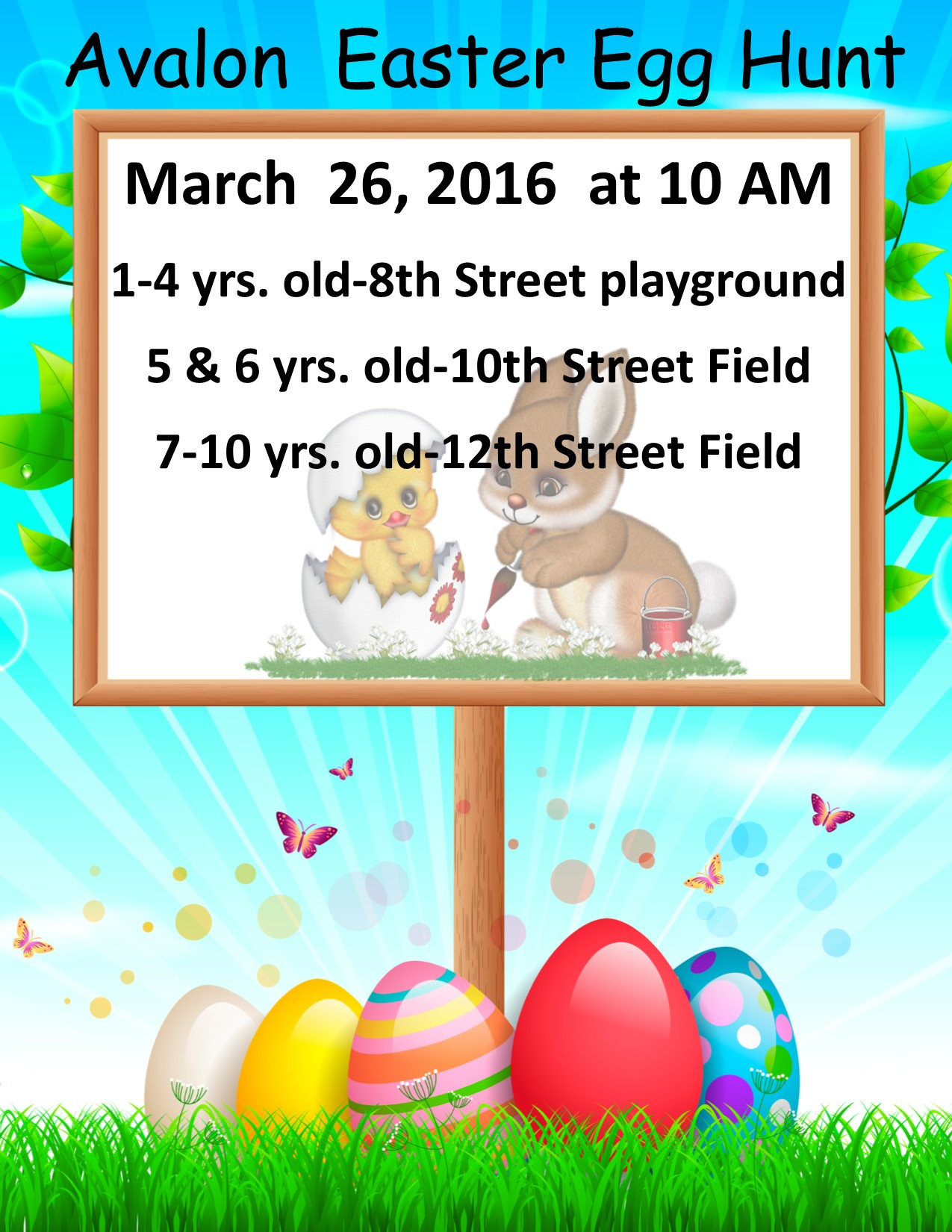 2016 Easter Egg Hunt – Avalon, New Jersey