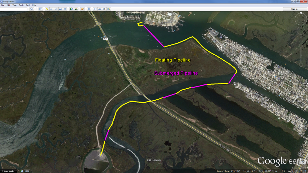 Mobile Dredging Pipeline Plan OCT 1 2015