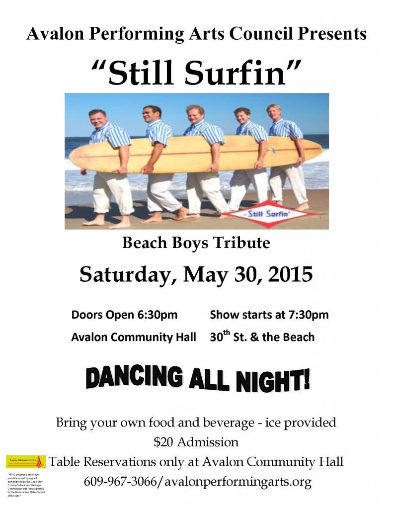 APAC Beach Boys Poster May 30 2015