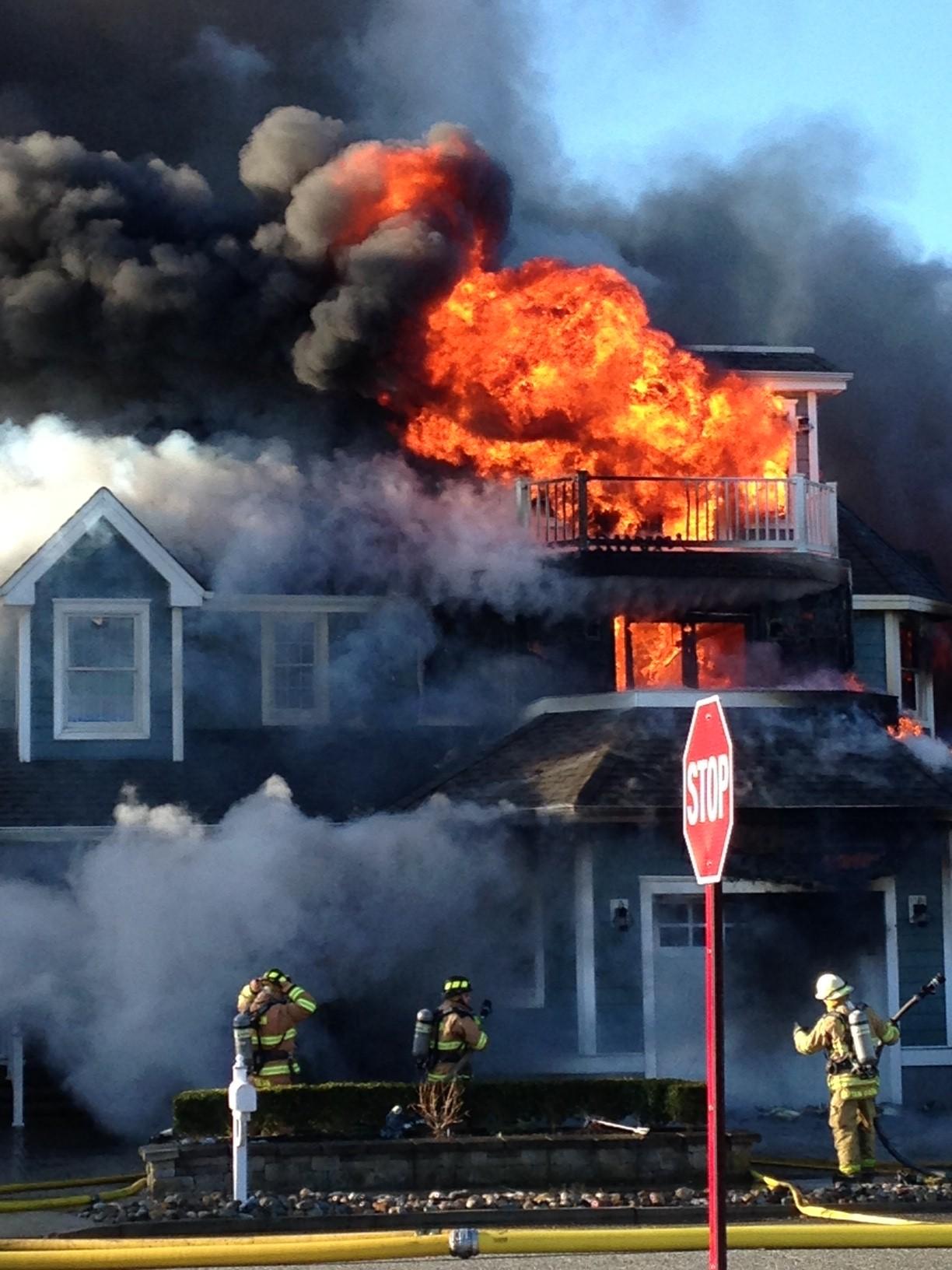 Avalon House Fire March 17 2017 Avalon New Jersey