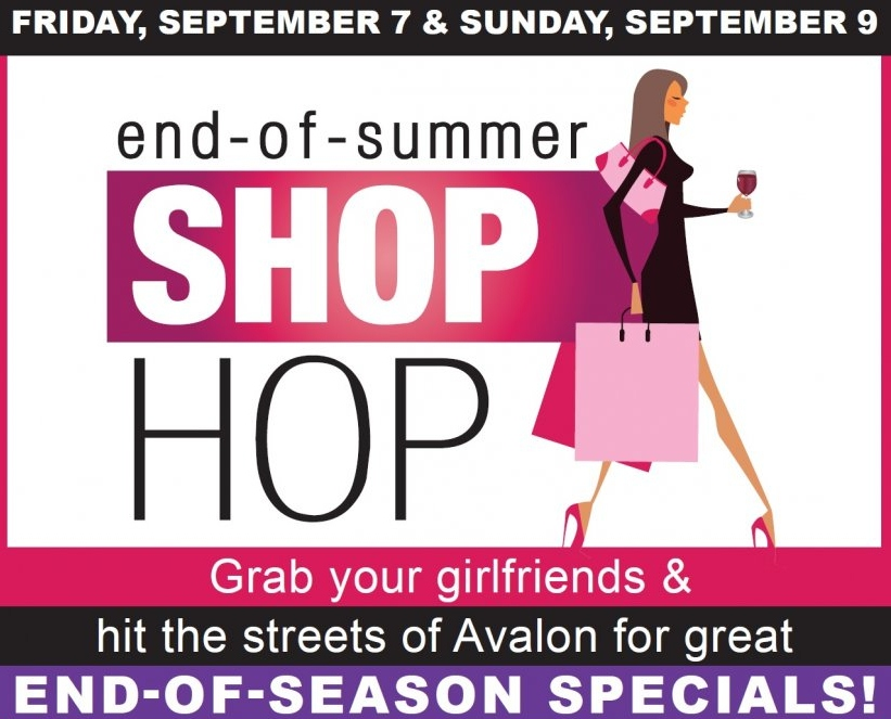 9277845d3ac The annual end-of-summer Shop Hop returns to Avalon. The weekend following  Labor Day