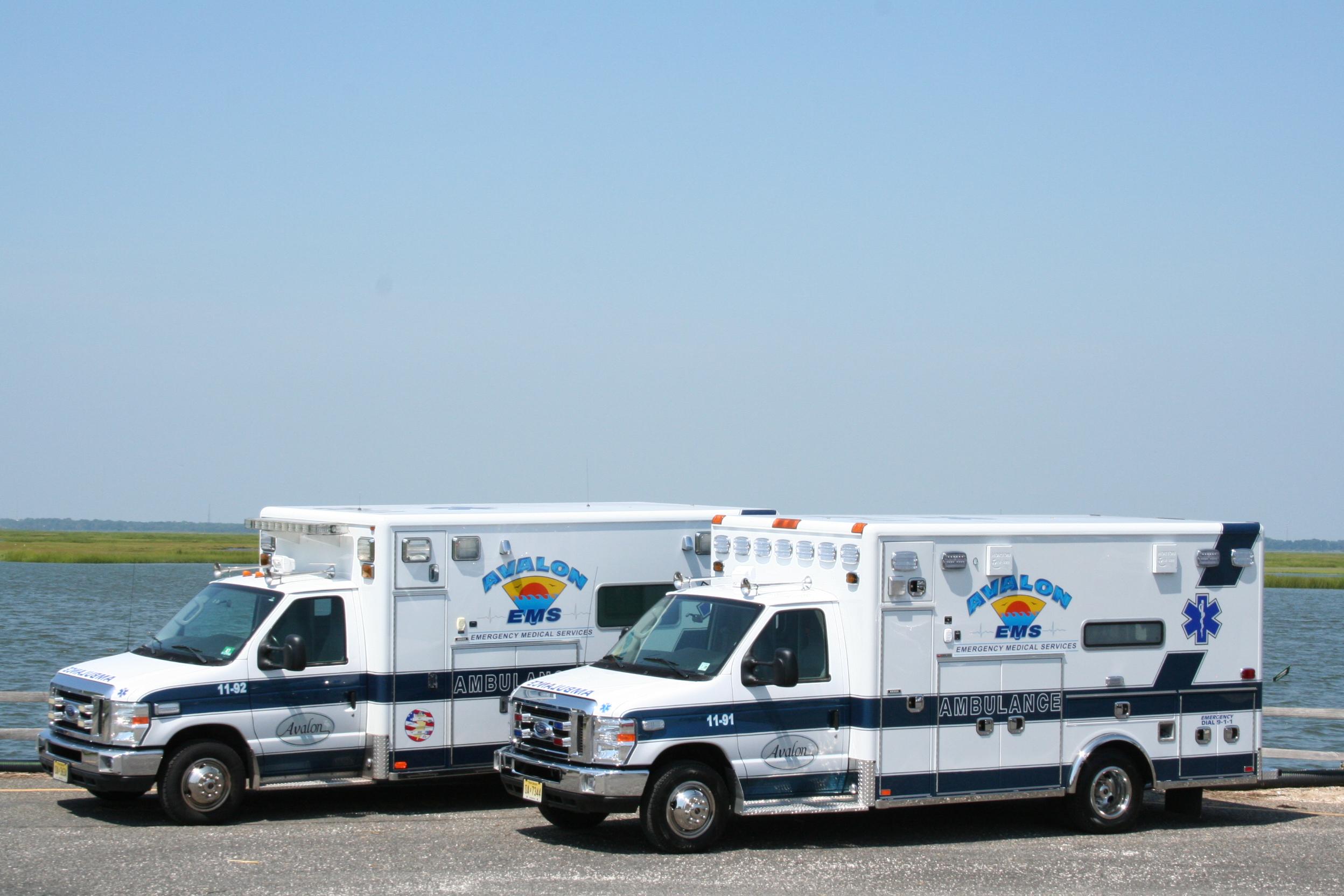 Avalon Rescue Squad Purchases New Ambulance, Funding Provided
