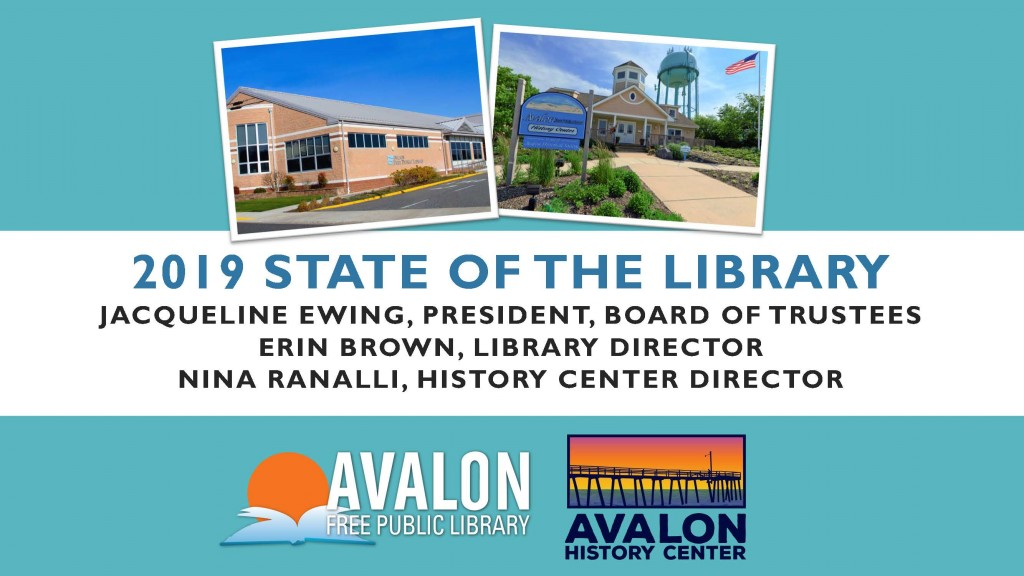 AFPL State of the Library 2019 Page 1