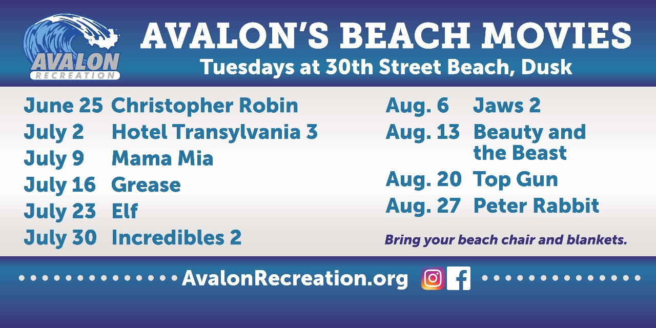 2019 Avalon Beach Movie Poster