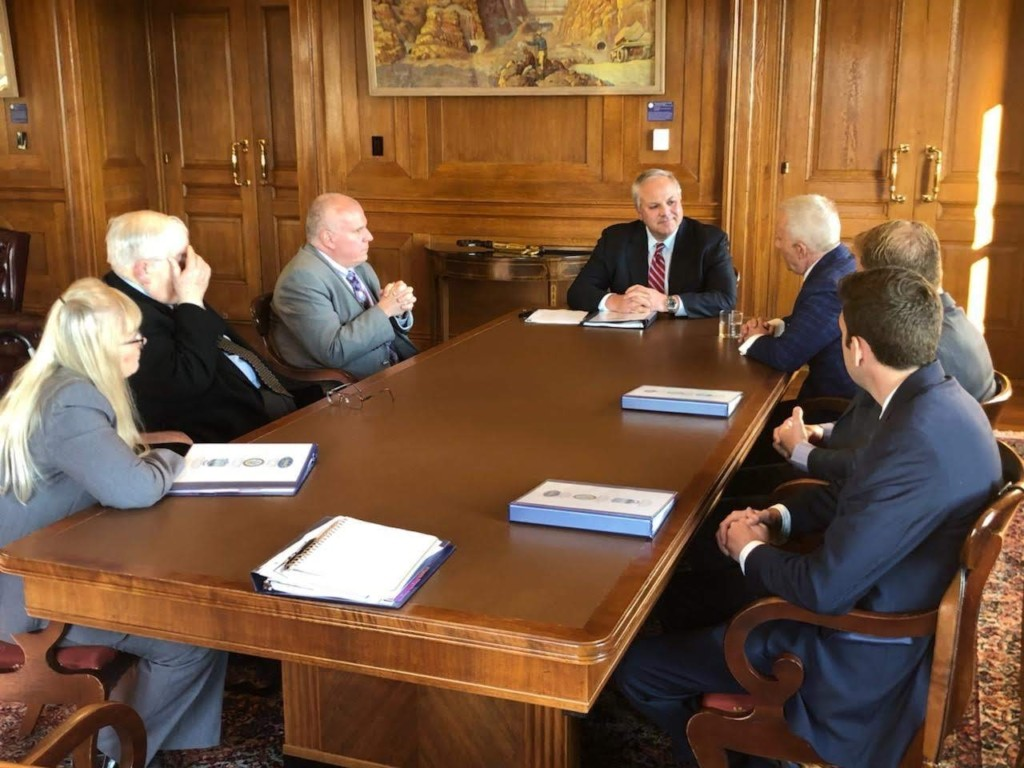 Secretary Bernhardt holds meeting with local officials in Washington, DC